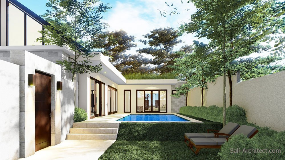 Architecture Project 2 villas in Umalas Bali