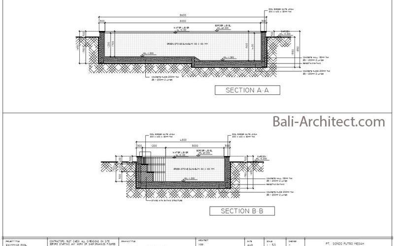 Bali Architect Swimming Pool