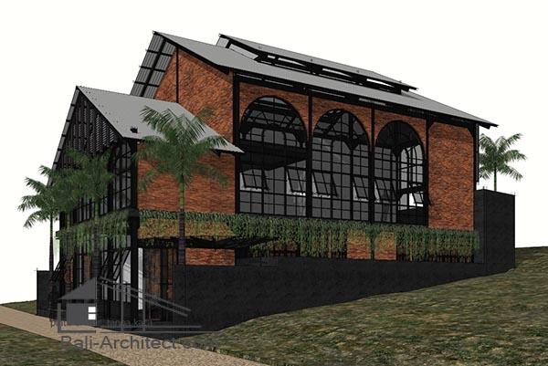 Architectural 3D Modeling Villa Batubolong